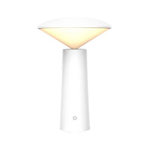Arisesun - Lámpara de mesa giratoria para dormitorio o estudio