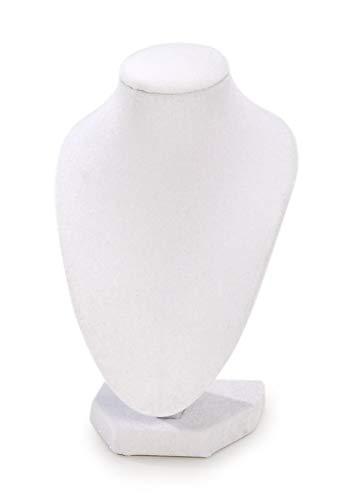 Darice die verschiedenen Brustumfang Halskette stehen 6-inch-white Samt