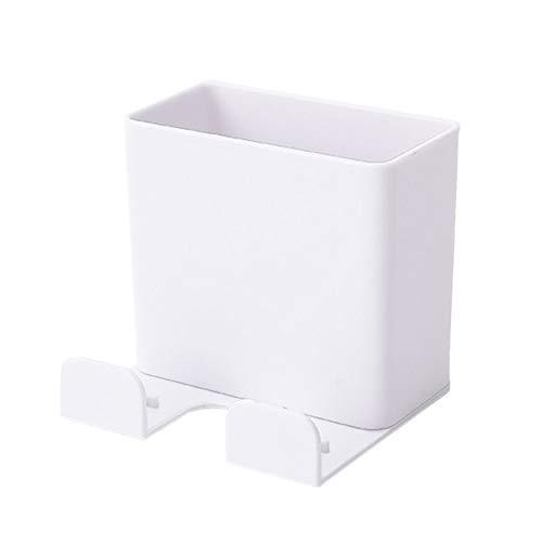 N / E Control remoto Rack de almacenamiento montado en la pared de aire acondicionado caja de almacenamiento controlador teléfono móvil soporte de pared estante accesorios para el hogar