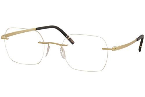 Eyeglasses Silhouette Momentum (5529) 7520 Golden Dome 50/21/140 3 piece frame