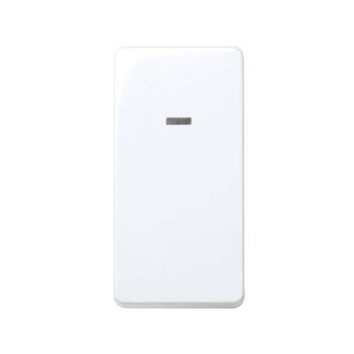 CABLEPELADO Interruptor unipolar con luminoso Simon 27 Play Blanco 10 A (Estrecho)
