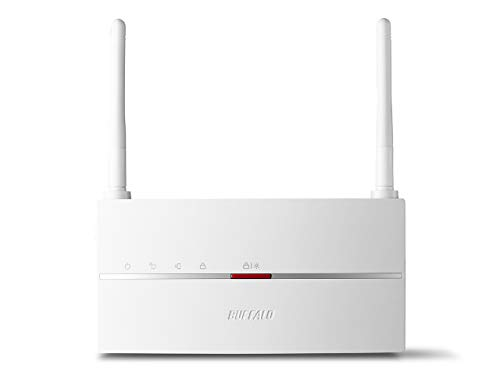BUFFALO WiFi 無線LAN 中継機 WEX-1166DHP 11ac 866+300Mbps コンセント直挿しモデル 【iPhone8/X対応】