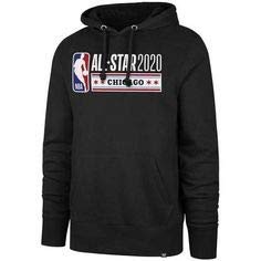 XL NEW OFFICIALLY LICENSED 2020 NBA ALL STAR GAME CHICAGO VERY RARE AND WANTED HOODIE SWEATSHIRT COOL!