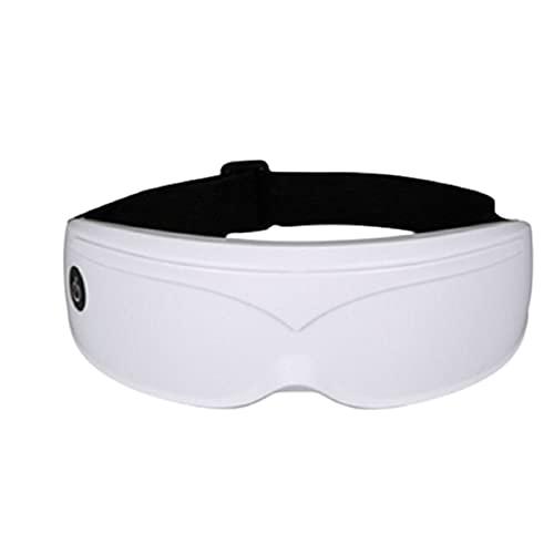 SXLONG Masajeador De Ojos,masajeador Electrónico Plegable Recargable con Compresión del Calor Y Bluetooth Música para Ojo Seco Relajarse Visión Ojo Oscuro Círculos