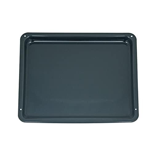 AEG Backofen Backblech Grau / Blau Enamelle 3870287202