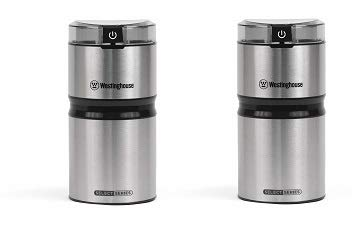 Westinghouse WCG21SSA Select Series Stainless Steel Electric Coffee and Spice Grinder -...