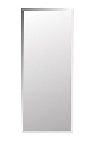 Jensen 868P34WHGX Bevel Mirror Medicine Cabinet, 16
