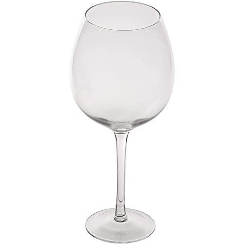 Oversized Giant XL Wine Glass, Holds 750ml Bottle of Wine, Extra Large Champagne Drinking Glass for...