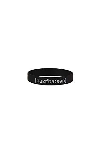 barTbaren Herren Armband für urbane Revoluzzer mit Lautschrift und coolem Axt Logo