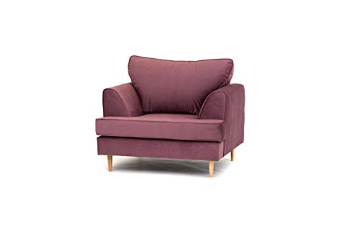 Abakus Direct | Harper 2 or 3 Seater Sofa Love Cuddle Chair Armchair Couch...