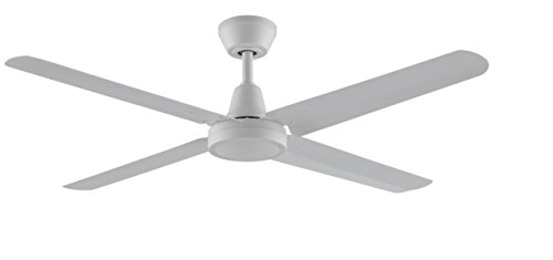 Fanimation Ascension Ceiling Fan - 54 inch - Matte White with Wall Control - FP6717MW