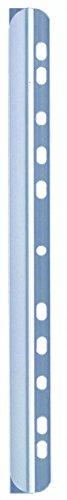 Durable 290419 Barra de clips con tira para archivar, para aproximadamente 60 hojas A4, paquete de 50 piezas, transparente