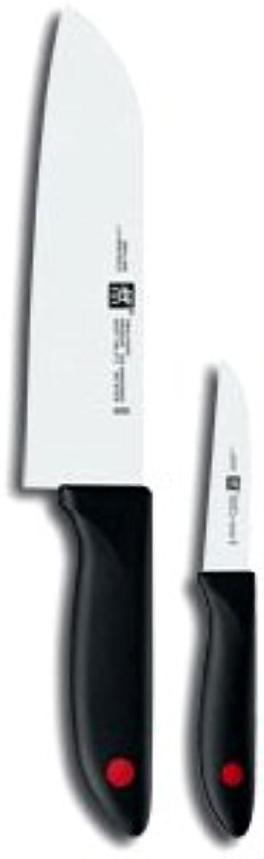 Zwilling Twin Point, Messerset, 2-tlg., 420 x 95 mm mm mm (Rostfreier Spezialstahl, Zwilling Sonderschmelze, Kunststoff, integriertes Zwilling Logo) schwarz B002DGTGOA be5032