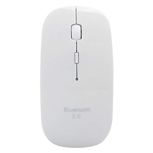 Yctze Wireless Mouse 4D for 5.2 Computer Supplies Peripherals 10 Meters Operating Distance Compatible with Laptop, PC, Mac OS Tablet(white)