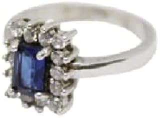 خاتم فضة للنساء - حجر زركون - من مورجان جويليري - RM 300-W 3.05 - S 10