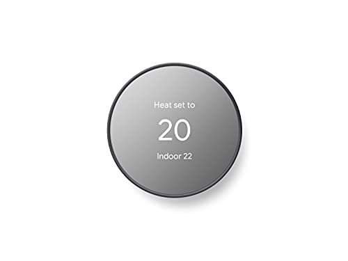 Google Nest Thermostat - Smart Thermostat for Home - Programmable Wifi Thermostat...
