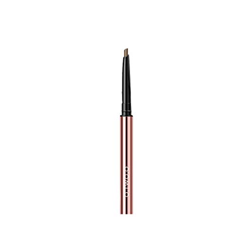 Eyeliner Wasserdichter flüssiger Eyeliner-Stift Dual-Use-Doppelkopf-Concealer Beige Black, Nicht verschmierter Eyeliner-Augenbrauenstift A