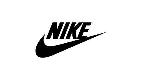 Nike Logo Iron On T Shirt vinilo transferencia de calor etiquetas negras etiqueta blanca, parches para planchar para ropa, parche con logotipo de Nike, juego de 3 (negro)