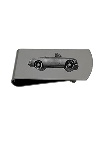 Classic British Car C Roadster ref130 - Soporte para clip de dinero (peltre)