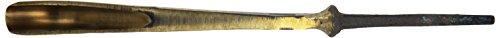 Stubai 503210 Couteau à sculpteur, forme 32, 10 mm, Or/Noir