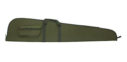 Akah Gewehrfutteral Langwaffen mit Zielfernrohr, abschliessbar, grün mit Aussentasche