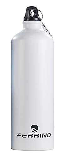 Ferrino Canteen Drink LT. 0,5 White Color Botella, Unisex Adulto, Multicolor, Talla Única