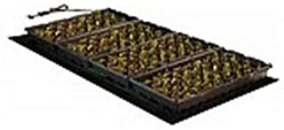 Hydrofarm MT10009 Hydroponic Pad,107 Watt UL Certified Heat Mat, 48 x 20.75 Inch, Black
