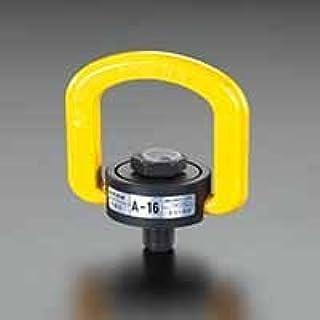 エスコ 1.6ton/M16x24mmスイベル吊り環 EA987GJ-4