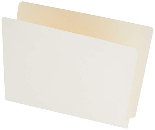 Smead End Tab File Folder, Shelf-Master Reinforced Straight-Cut Tab, Letter Size, Manila, 100 per Box (24110)