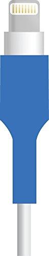 Sleev Proteggi Cavo / Salva Cavo Universale - Protegge OEM Cavi e Cuffie - 2 pezzi inclusi nella confezione - BLU
