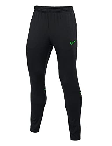 Nike Dry Acd21 Kpz, Pantaloni Unisex Adulto, Nero/Verde, L