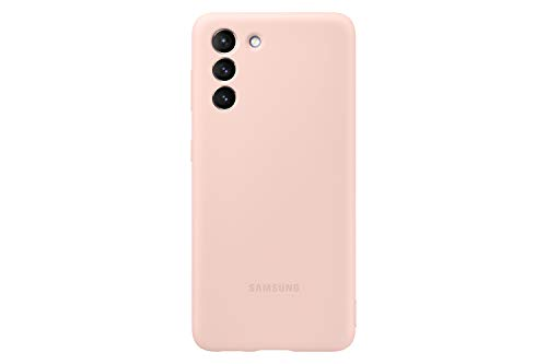 Samsung Cover in silicone per Galaxy S21 5G (2021), Pink