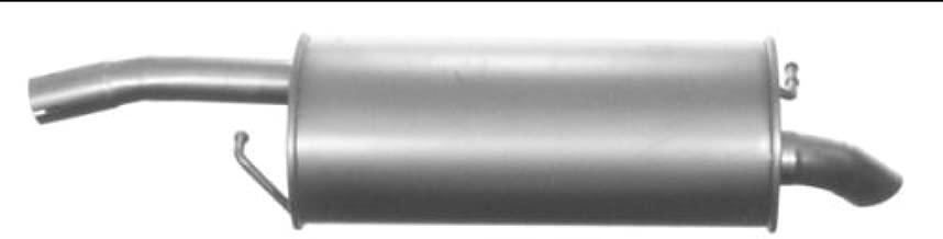 kit di montaggio ETS-EXHAUST 52406 Silenziatore marmitta Posteriore pour FIESTA 1.25 1.4 60//96hp 2008-2012