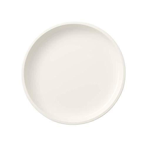 Villeroy & Boch Clever Cooking Plat de service rond, 26 cm, Porcelaine Premium, Blanc