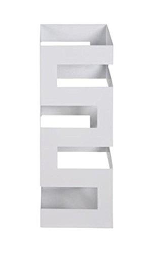 Haku Pied de Parasol en métal laqué Blanc, 26326
