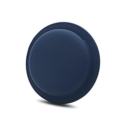 Funda para Airtag A-pple Airtags Accesorio de Silicona Leather Case Compatible con Airtags Locator Tracker Funda Protectora de Silicona Anti-pérdida