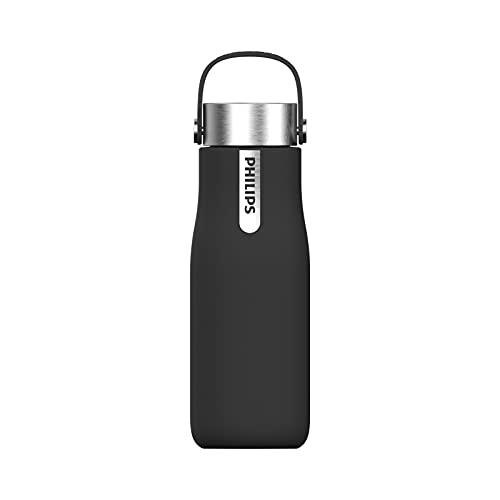 Philips - GoZero Smart UV borraccia per idratazione, 350 ml, colore: Nero