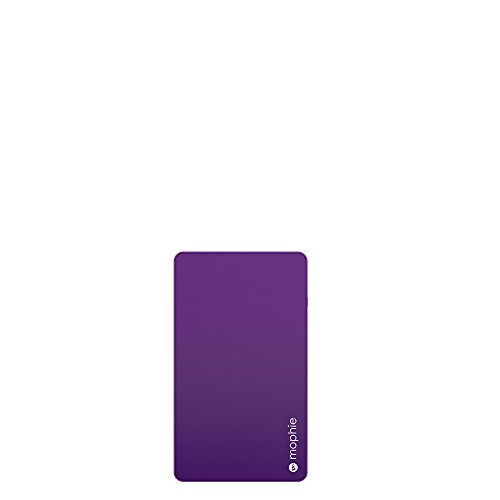 mophie powerstation Mini - Universal External Battery for Smartphones (3,000mAh) - Purple