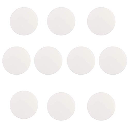 Hojoy Türstopper Wand 10 Stück, Türstopper Selbstklebend & Türstopper Wand Selbstklebend, Mit 3M Selbstklebendem Aufkleber Zum Schutz Der Wand, 4 cm