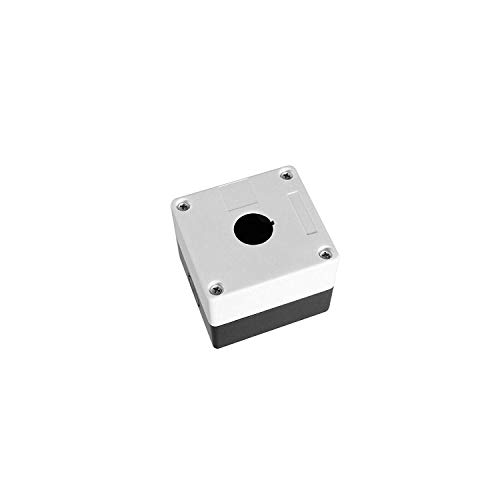 Einbau Drehschalter 22mm in 2 Ausführungen auswählbar On/Off und On/Off/On auch die passende Leergehäuse wählbar (Leergehäuse 1-fach)