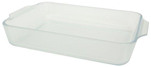 アデリア 耐熱ガラス グラタン皿 1800ml こびりつきにくい容器 セラベイク レクタングルロースターM 電子レ...