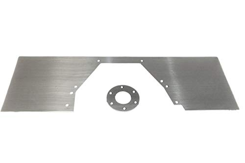 ICT Billet BBF Mid Plate Solid 429 460 Motor Engine Mount Big Block Aluminum 551811A