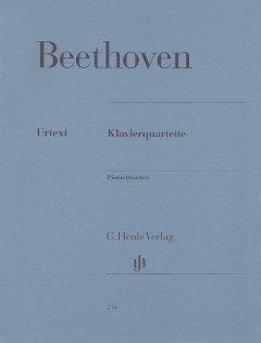 KLAVIERQUARTETTE - arrangiert für Violine - Viola - Violoncello - Klavier [Noten / Sheetmusic] Komponist: BEETHOVEN LUDWIG VAN