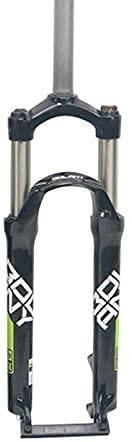 TKTTBD Forcella Ammortizzata per Bici MTB, Forcella Meccanica Anteriore per Bicicletta in Lega di Alluminio 26/27.5/29 Pollici E,27.5inch