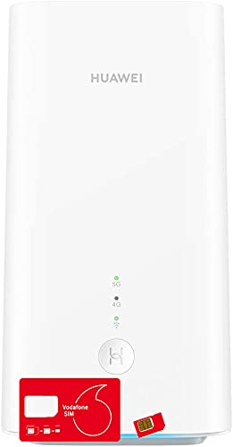 Huawei 5G CPE Pro 2 Dual Band Gigabit Router with Unlimited Max Vodafone 5G...