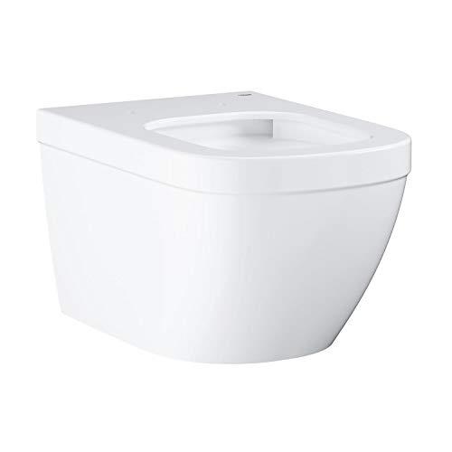 Grohe Euro Keramik Wand-Tiefspül-WC mit PureGuard Oberfläche (mit PureGuard, Lotuseffekt und PowerFlush) 3932800H