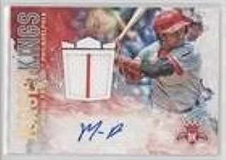 Baseball Card 2017 Panini Diamond Kings Steven Matz #//49 Holo Gold #JKS-SM Jersey Kings Signatures