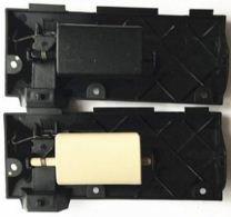 FEILIDAPARTS Cerradura de guantera para Ford Mondeo MK300–07negro & amarillo