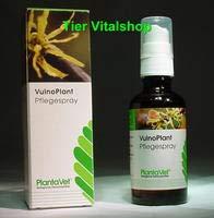 Plantavet VulnoPlant Pflegespray biologische Wundsprühlösung für Tiere, Option:50 ml Pumpsprühflasche