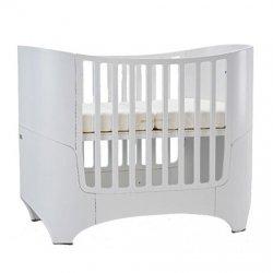 Leander Baby- und Kinderbett, Buche white (RAL9016)